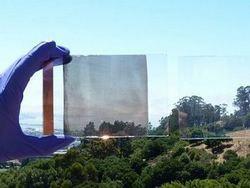 Прозрачные солнечные батареи заменят оконные стекла