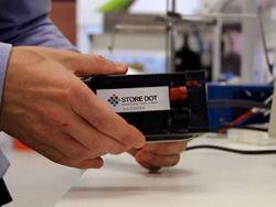 Новая технология способна зарядить гаджет за полминуты