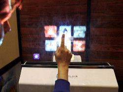 В Японии разработали дисплей из воздуха