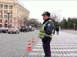 В Полтавской области милиция остановила несколько автобусов