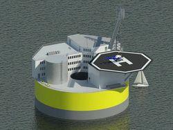 США планируют начать строительство плавучих АЭС
