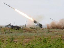 Огнеметчики ЮВО применят термобарический снаряд