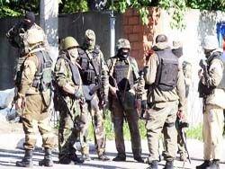 Новость на Newsland: В Донецке вооруженные боевики штурмуют воинскую часть