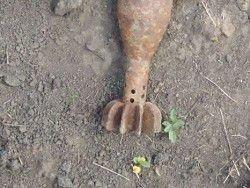 Минометная мина и авиационная бомба найдены и уничтожены у Омска