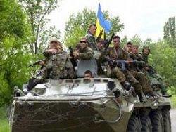 Над Красным Лиманом украинский флаг