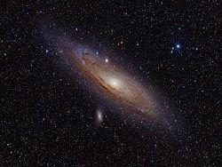 Ученые объяснили спиральную структуру галактики Андромеды