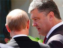 Путин и Порошенко решили урегулировать кризис на Украине мирно