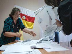 В Южной Осетии огласили итоги парламентских выборов