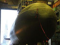 Самую малошумную подлодку для ЧФ спустили на воду