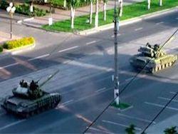 Новость на Newsland: Колонна украинских танков вошла в Луганск, начались бои