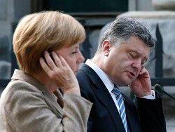 Новость на Newsland: Меркель призвала Украину к перемирию и дала полмиллиарда евро