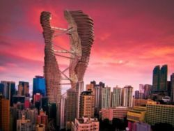 В Гонконге построят небоскреб с ядерным реактором