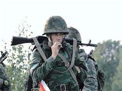 У Новоазовска некоторые военные РФ переходят на сторону Украины