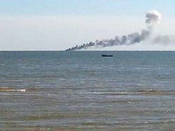 Новость на Newsland: Украинский патрульный катер подбили ополченцы