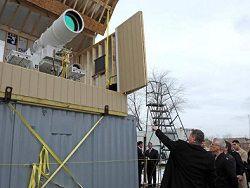 Новость на Newsland: Великобритания проведет тендер на разработку боевого лазера