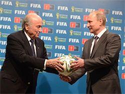 Новость на Newsland: ЕС предлагает приостановить членство России в ФИФА и УЕФА