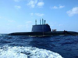 """Новая подлодка ВМС  класса """"Дельфин"""" прибудет в Израиль"""