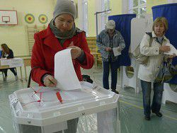 Новость на Newsland: Явка избирателей в Крыму в 10 раз превысила московскую