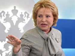 Новость на Newsland: Матвиенко призвала компании РФ выходить на Гонконгскую биржу