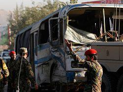 Новость на Newsland: Смертники подорвали два автобуса с военнослужащими в Кабуле