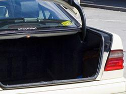 Новость на Newsland: Госдума обсудит введение штрафа за открытый багажник