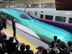 Новость на Newsland: Япония представила самый быстрый поезд в мире