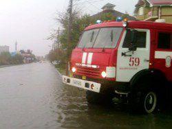 Новость на Newsland: Потоп в Анапе: выпала трехмесячная норма осадков