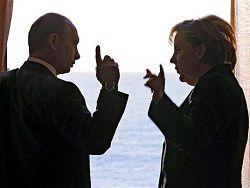 Новость на Newsland: Меркель из-за Украины вступила в перепалку с Путиным