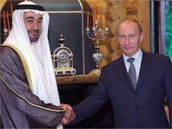 Новость на Newsland: Владимир Путин встретился с принцем ОАЭ