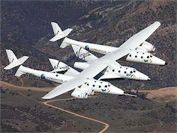 Новость на Newsland: Частный космический корабль SpaceShipTwo потерпел крушение в США