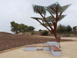 Деревья с солнечными батареями появились в Израиле