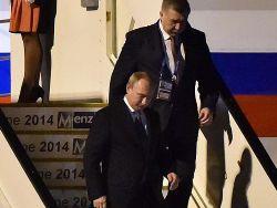 Новость на Newsland: Руководители Австралии не вышли встречать Путина