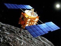 Япония запустила к астероиду зонд