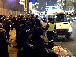Новость на Newsland: В Москве снесены палатки участников акции бюджетников