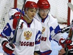 Российские хоккеисты обыграли американцев