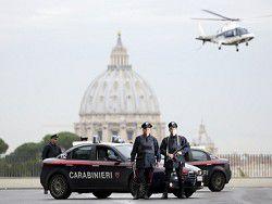 В Риме полиция не вышла на службу под Новый год