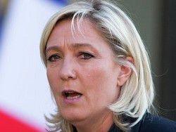 Марин Ле Пен обвинила Олланда в отсутствии смелости