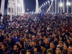 Акция против сближения с Россией прошла в Венгрии