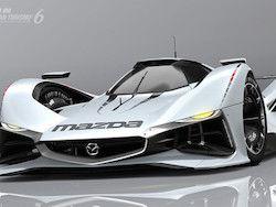 Mazda рассекретила виртуальный болид LM55 Vision Gran Turismo