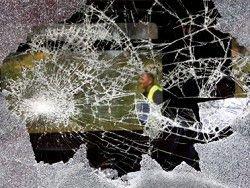 В Воронеже разбили стекла у 40 автобусов