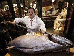 Голубой тунец продан за $37 000 на аукционе в Токио