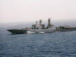 Военный корабль РФ совершил самый длинный поход в истории