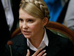 Тимошенко призвала лётчицу Савченко отказаться от голодовки