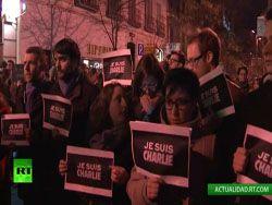 Новость на Newsland: Многотысячный митинг проходит в Париже