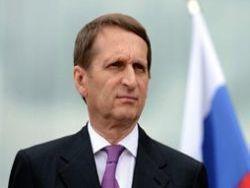 Нарышкин: антироссийские санкции становятся аморальными