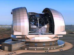 Начинается строительство Европейского большого телескопа