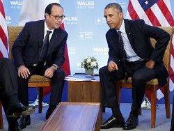 Обама и Олланд за сохранение санкций против России