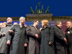 Меркель: свобода не останется беззащитной