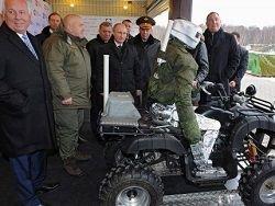 Боевой робот Путина