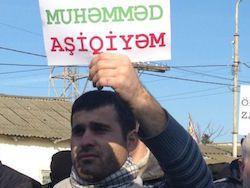 В Баку митинговали против карикатур на пророка Мухаммеда